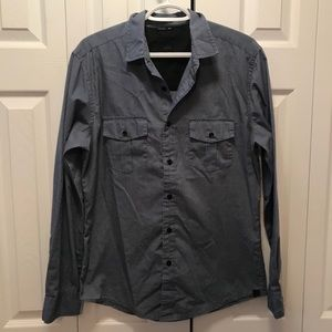 KR3W Quincy Button Down Long Sleeve Shirt